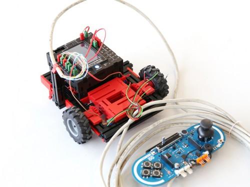Робот с дистанционным управлением
