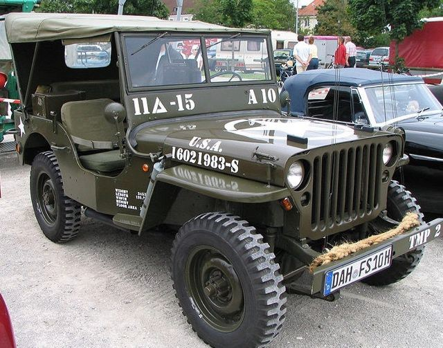 Джип образца 1945 года