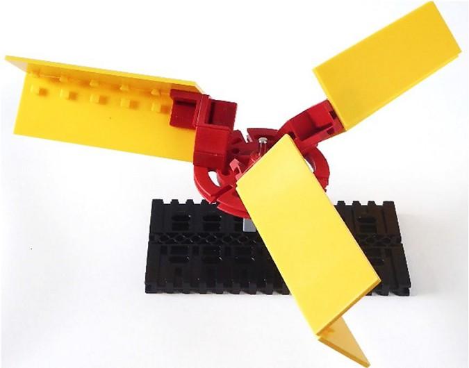 Трёхлопастной ротор