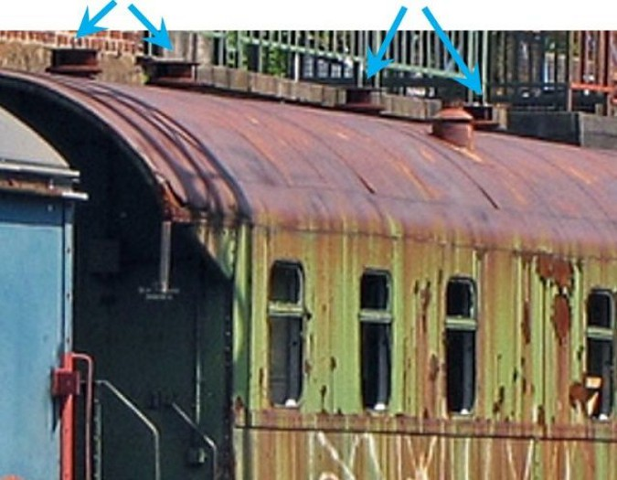 Вентиляция на старом железнодорожном вагоне
