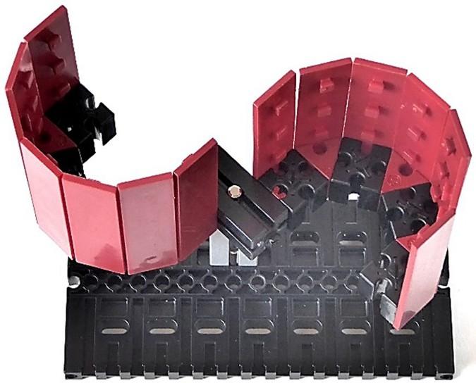 Модель fischertechnik: ротор Флеттнера