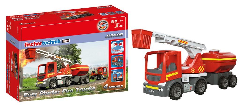 554193 Easy Starter Fire Trucks
