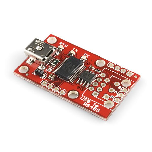 Плату-переходник USB-RS485